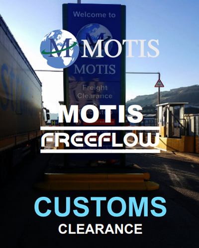 Motis Freeflow Customs Clearance