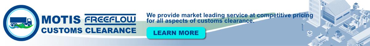 Motis Freeflow Customs Clearance