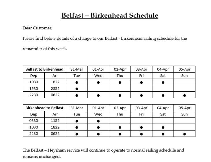 stena updated services