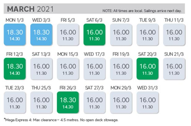 Time table 2