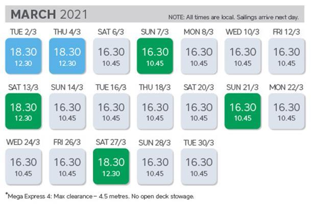 Timetable 4