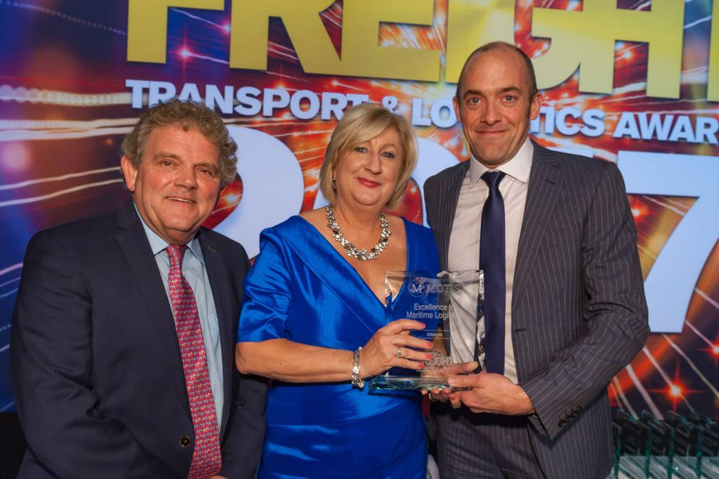 Stena Line Win Excellence in Maritime Logistics Award, Sponsored by Motis